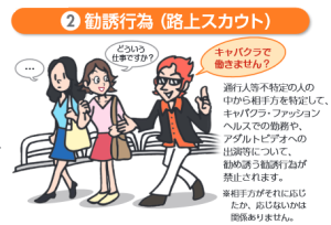 新宿の違法スカウト